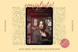 Alice Basso Non ditelo allo scrittore Foemina ex libris jpg